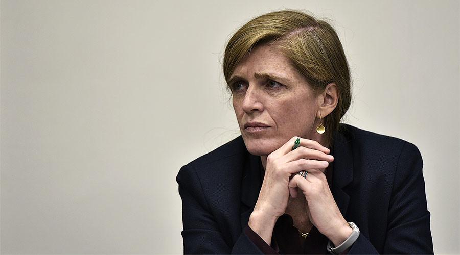 'As if she was Mother Teresa herself': Russia's Churkin snubs US Power's speech at UNSC