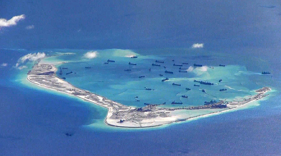 US 'ready to confront' Beijing over South China Sea, as satellite photos show 'militarization'