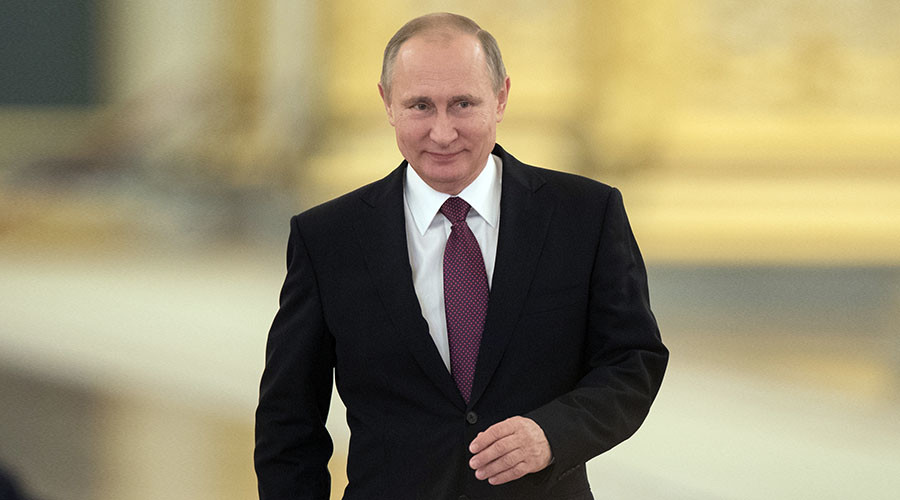 4 years & counting: Putin again tops Forbes 'most influential' list as Obama sinks to 48th place