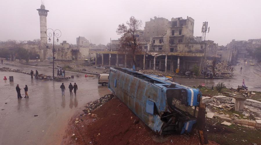 'Unlike Western mainstream media, I've spent the last three days in East Aleppo'