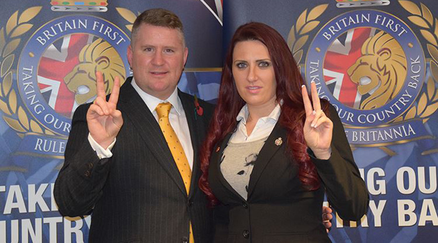 Former Britain First leader Paul Golding jailed for breaching mosque ban