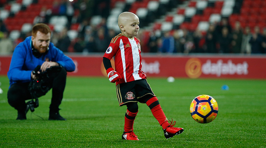 Goal scored by terminally-ill 5yo sparks 'Goal of the Month' campaign (VIDEO)