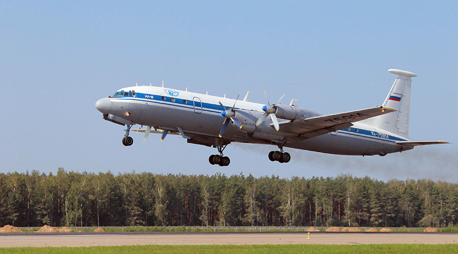 An Il-18 aircraft © Vitaliy Belousov