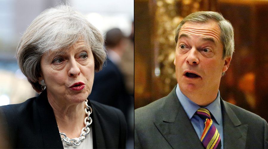 Ministers 'ignore' PM's Farage ban to build links with Donald Trump