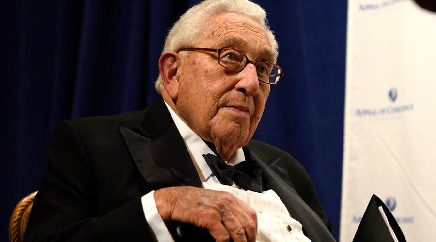 Former U.S. Secretary of State Henry Kissinger © Darren Ornitz