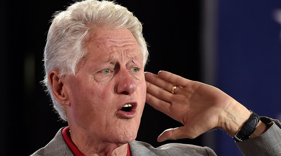 Russians, FBI, 'angry white men' to blame for Hillary's loss – Bill Clinton
