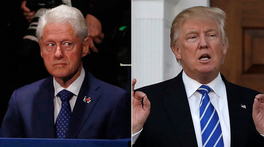 Trump: Bill Clinton 'doesn't know much,' ran failed campaign
