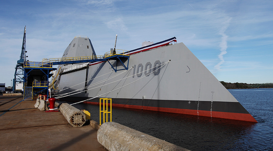 'Unmitigated disaster': US Navy's Zumwalt destroyer project blasted as wasteful & incapable