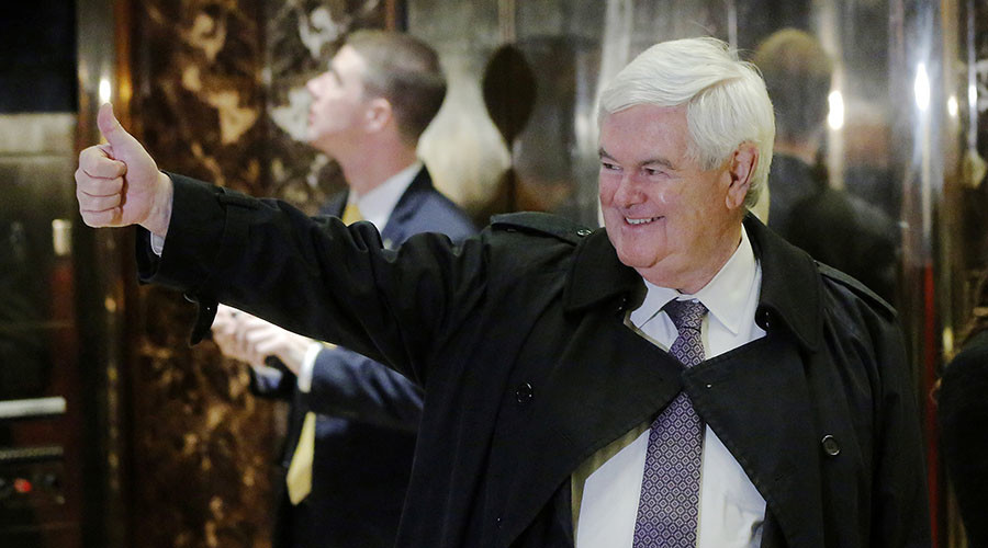 Swamp here to stay: Newt Gingrich says Trump disclaims 'drain the swamp'