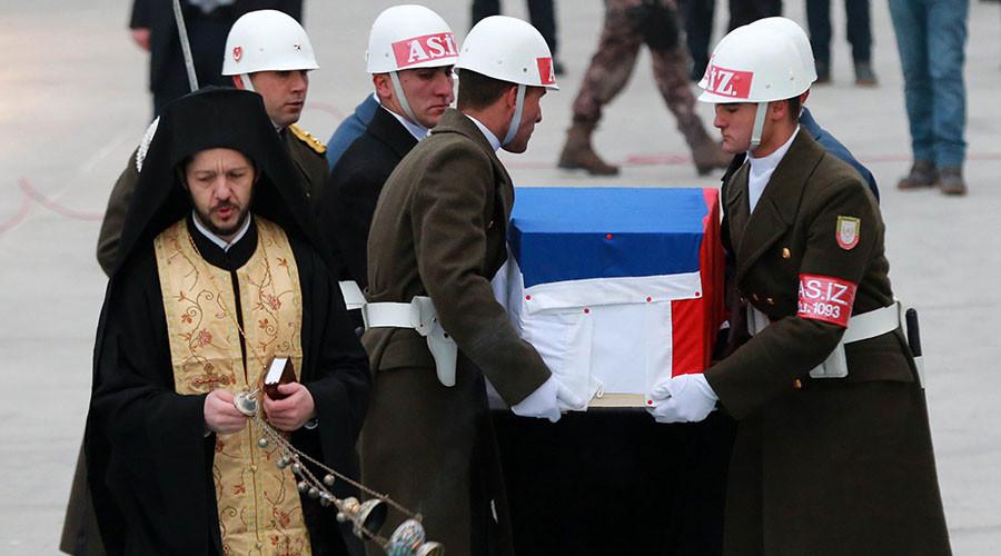 'Shots fired at ambassador Karlov targeted Russian state' – top senator to RT