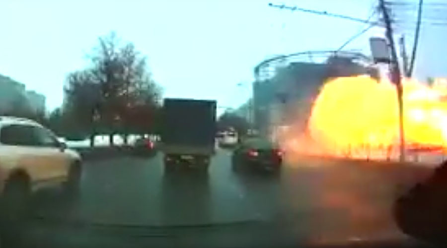 Moscow Metro station erupts in gas blast (VIDEO)