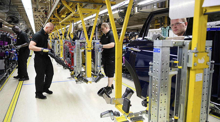UK car production speeds to a 17-yr high