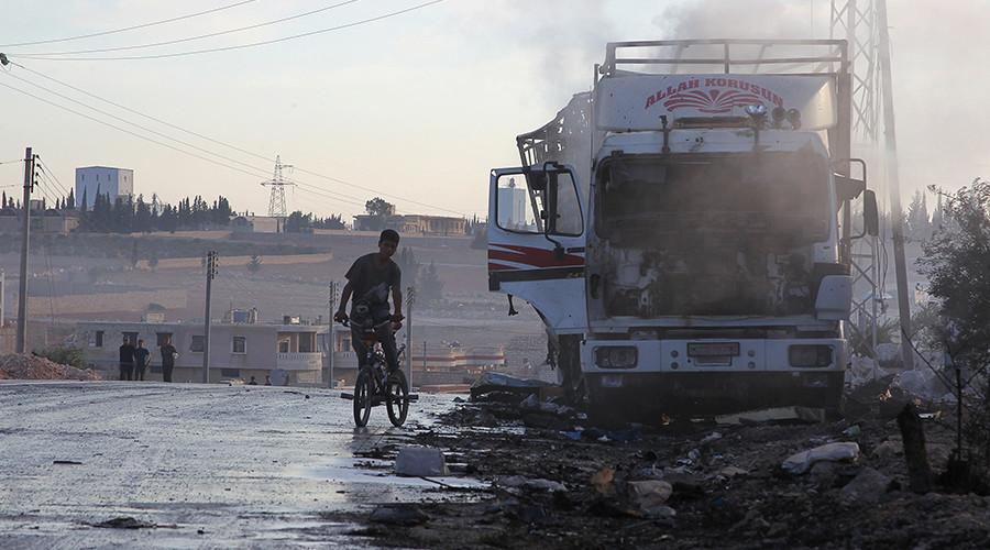 UN probe into Aleppo aid convoy attack fails to identify perpetrator