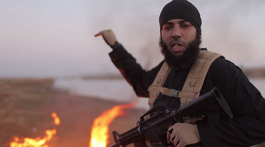 ISIS burns 2 Turkish servicemen alive, releases gruesome video