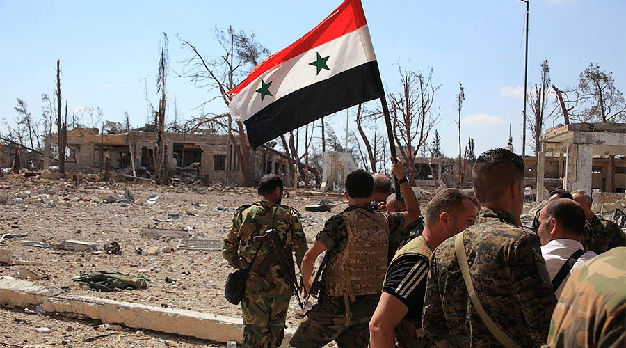 'With Aleppo retaken, Washington's plan for regime change in Syria is off the table'