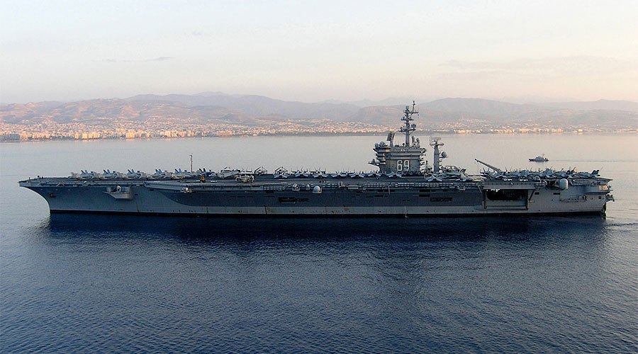 French cops accidentally ship out on USS Eisenhower after losing their way