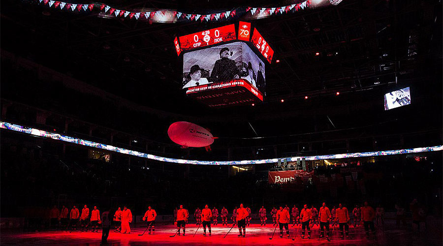 KHL warns team over playing Soviet anthem before game