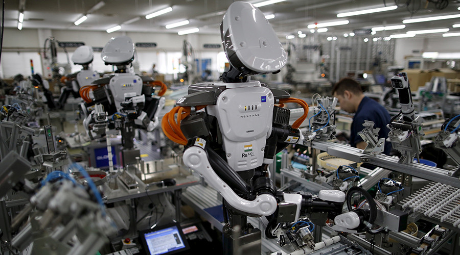 Robots could replace almost half of US jobs by 2036