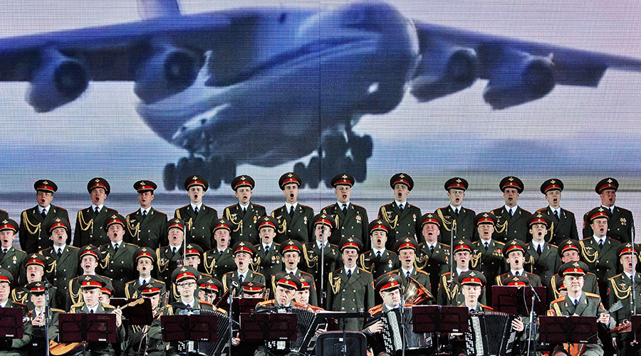 64 members of world-renowned Alexandrov army band lost in Tu-154 crash (VIDEO)