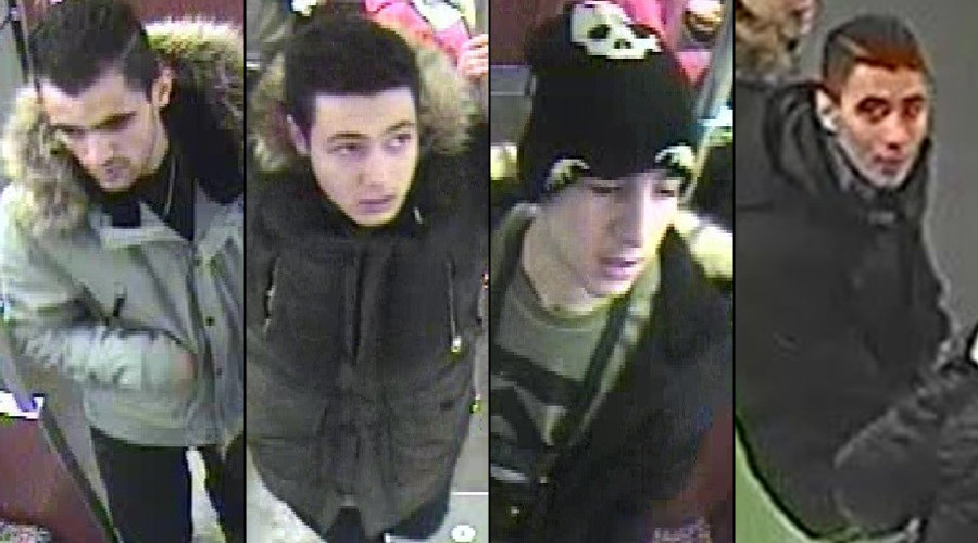 Homeless man set on fire in Berlin underground, police release CCTV images of suspects