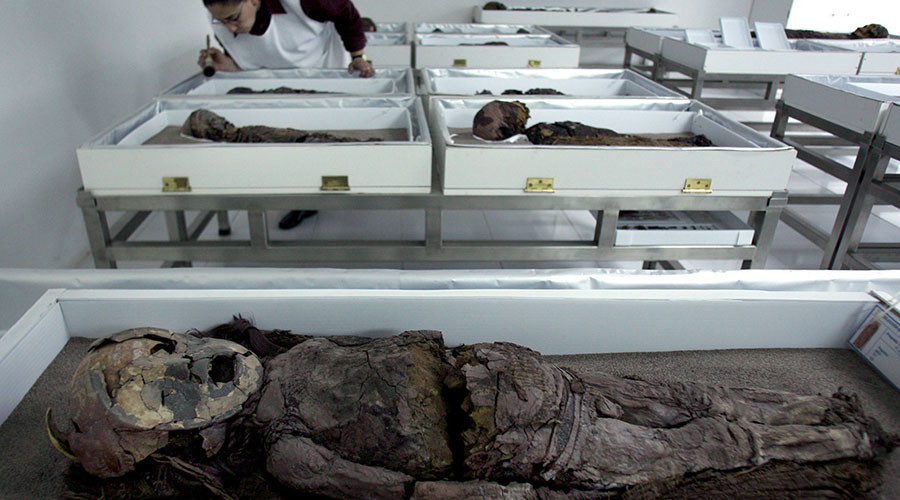 World's oldest mummies undergo scans & DNA tests to shed light on ancient anatomy