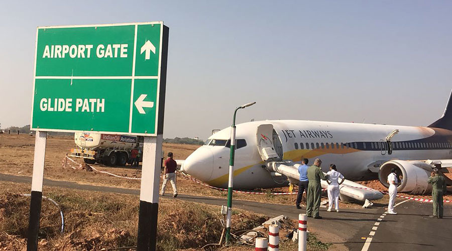 2-plane collision averted at Delhi airport, 1 more skids off runway in Goa