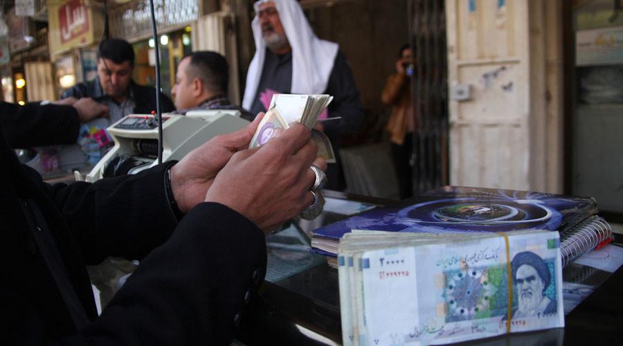 Iran's sinking rial despite record oil output