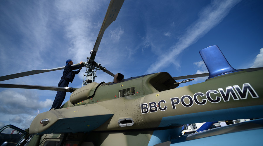 1st naval Ka-226 modular light helicopter produced in Russia