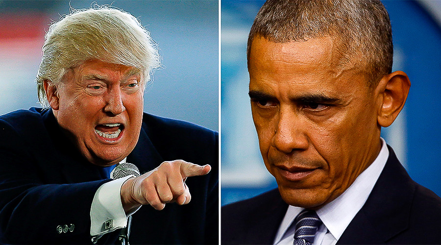 So long smooth transition? Trump slams Obama for inflammatory statements, roadblocks