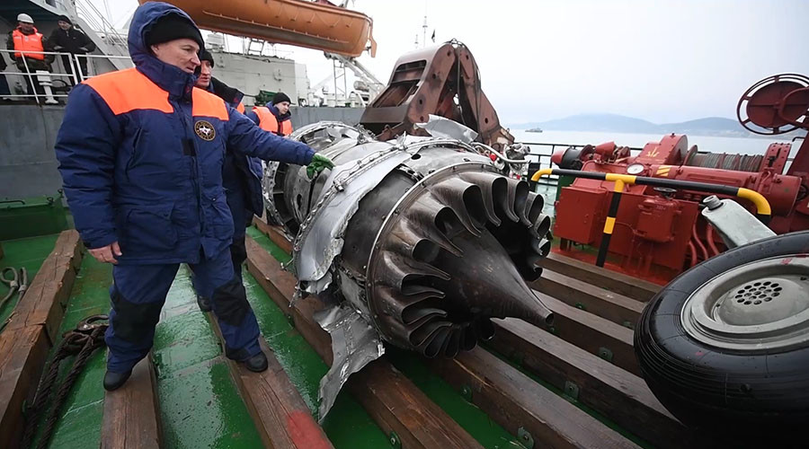 Tu-154 crash probe: No onboard explosion, main recovery phase over