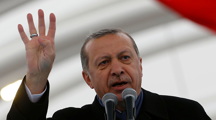 'Support your NATO ally, not terrorists:' Erdogan slams US amidst row over alleged YPG supplies