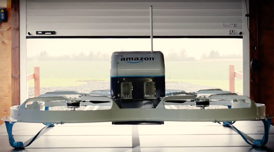 'Death Star of e-commerce': Amazon's plans for delivery drone motherships (PICTURE)