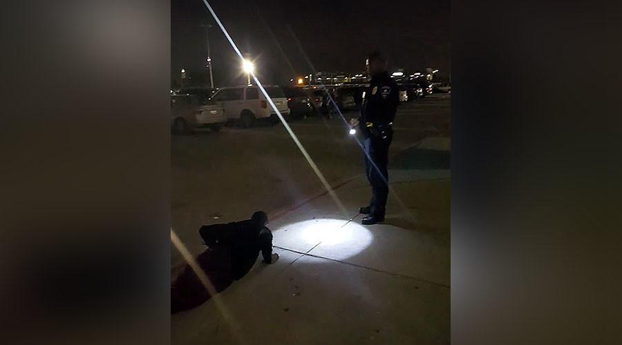 Texas cop lets weed-smoking teen choose between pushups or jail (VIDEO)