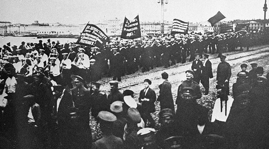 #1917LIVE: Relive the Russian Revolution as it happened with RT's unique Twitter project