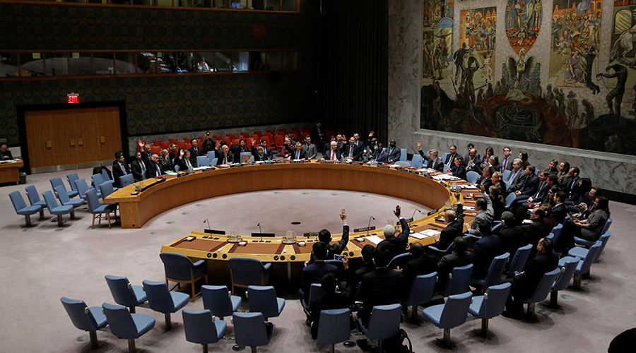 UN Security Council approves Russian-drafted resolution on Syria ceasefire