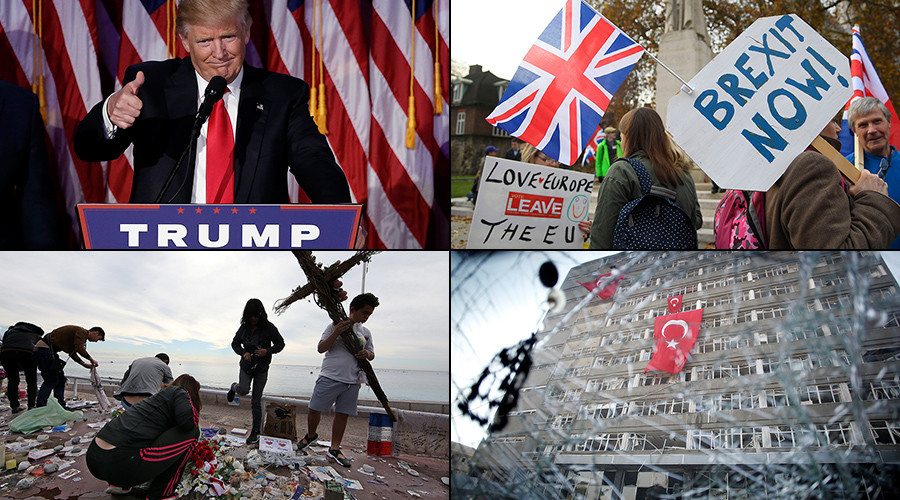 News that shaped 2016: Trump, Brexit, Russia's Olympic ban & more