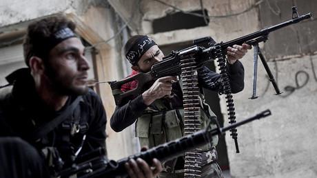 Free Syrian Army fighters. © Pau Rigol / Zumapress / Global Look Press