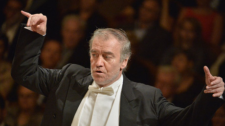 Russian conductor Valery Gergiev. © Michal Dolezal / CTK Photo / Global Look Press