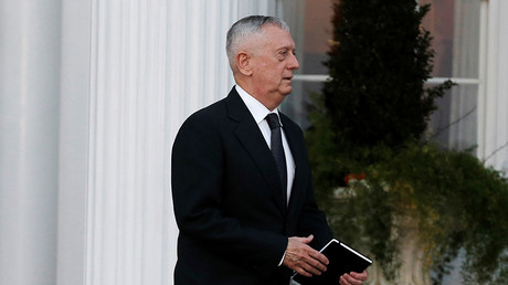 Retired Marine General James Mattis  © Mike Segar
