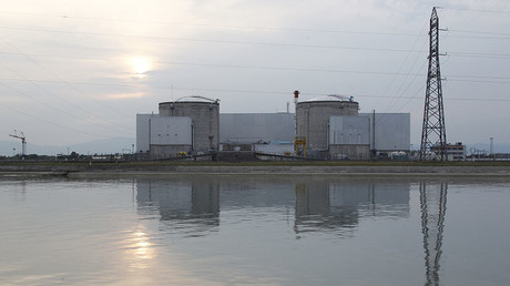 A general view shows France's oldest Electricite de France (EDF) nuclear power station, outside the eastern French village of Fessenheim, near Colmar. ©Vincent Kessler