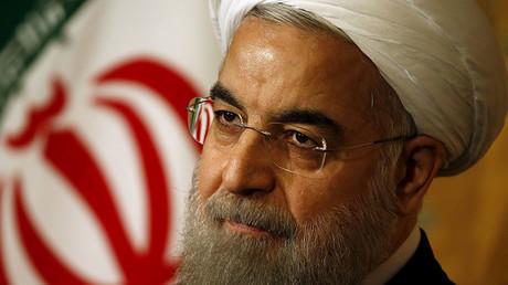 Iran President Hassan Rouhani. ©Alessandro Bianchi