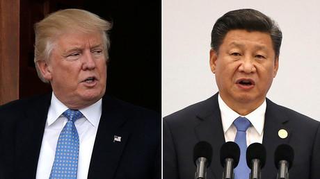 U.S. President-elect Donald Trump (L), China's President Xi Jinping (R). ©Reuters