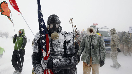 Veterans join protests against Dakota Access Pipeline