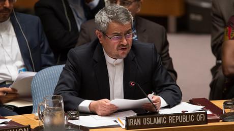 Iranian Ambassador to the United Nations Gholam Ali Khoshrou. © Li Muzi / ZUMAPRESS.com / Global Look Press