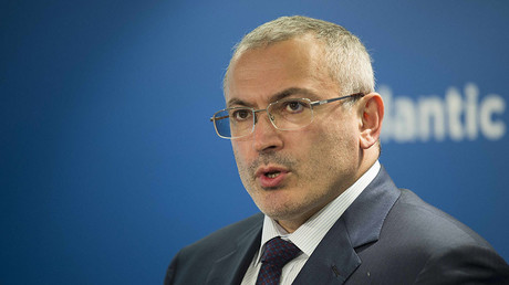 Former Russian tycoon Mikhail Khodorkovsky. ©Jim Watson
