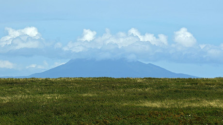 The Mendeleev Volcano on the Kunashir Island of the Greater Kuril Ridge. ©Ekaterina Chesnokova