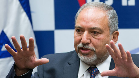 Israel's Defense Minister Avigdor Lieberman. © Jinipix / Global Look Press via ZUMA Press