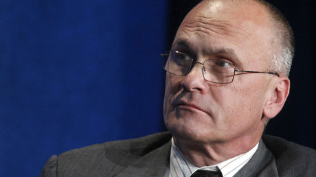 Andrew Puzder, CEO of CKE Restaurants © Fred Prouser