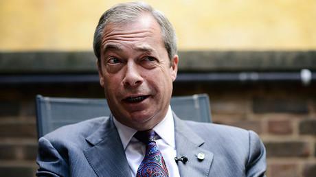 Nigel Farage © Dylan Martinez