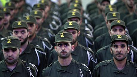 Lebanese Hezbollah members © Ramzi Haidar